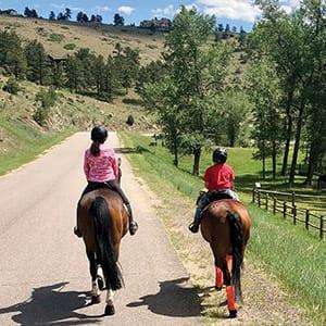 Trail Riding in Colorado!
