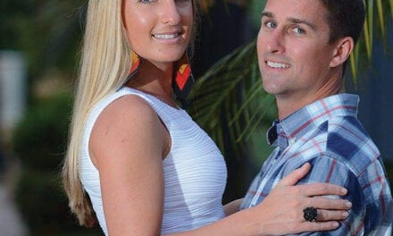 Christina Fick and Conner Gardiner