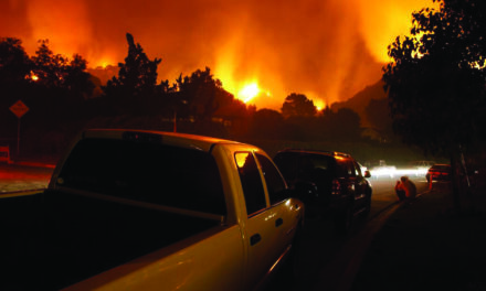 Local Rotarians  Present Wildfire  Awareness and Education
