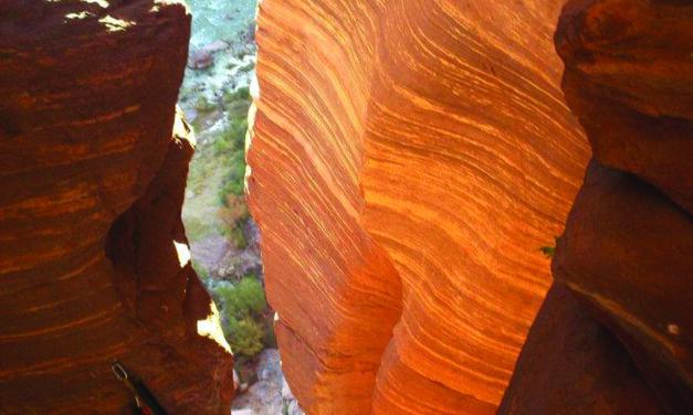Grand Canyoneering in Deer Creek Falls