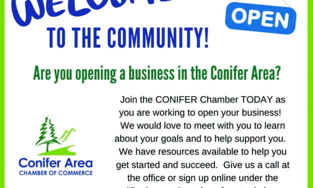 Conifer Area Chamber of Commerce Welcomes New Executive Director